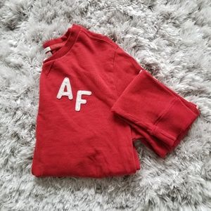 Abercrombie & Fitch  | Mens Red Muscle Sweater
